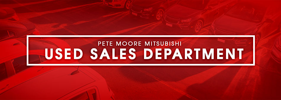Used Sales Department at Pete Moore Mitsubishi in Pensacola, FL