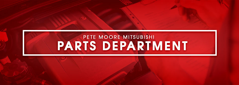 Parts Department at Pete Moore Mitsubishi in Pensacola, FL