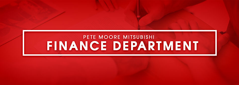 Finance Department at Pete Moore Mitsubishi in Pensacola, FL