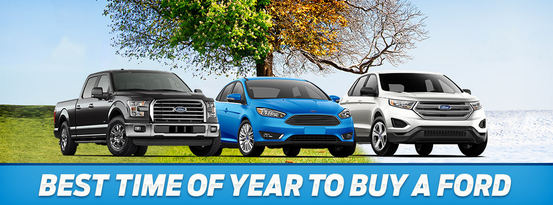 Best Time of Year To Buy A Ford | Pittsburgh, PA