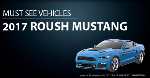 August specials- ROUSH MUSTANG