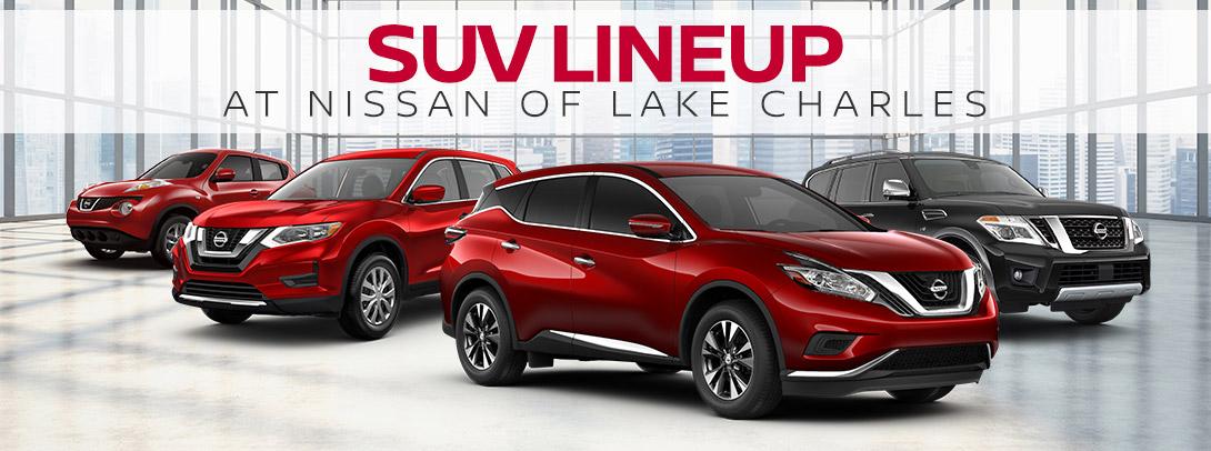 Nissan SUVs Available at Nissan of Lake Charles   Lake Charles, LA