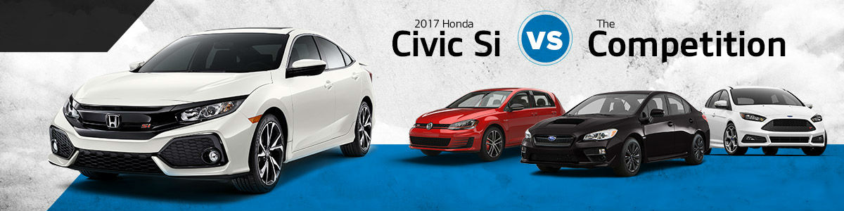 Dare to Compare 2017 Honda Civic Si vs. Competition - Best New Cars Springfield Missouri