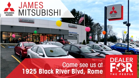 James Mitsubishi New And Used Cars Parts And Service - Mitsubishi local dealers