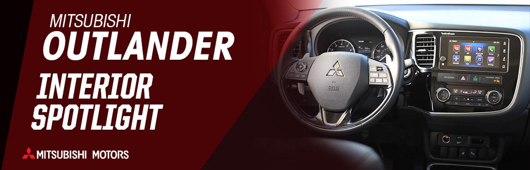 Mitsubishi Outlander Interior Spotlight | Bakersfield, CA