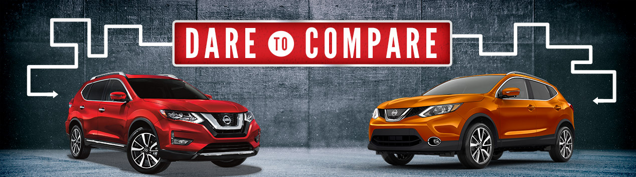 NISSAN ROGUE VS. NISSAN ROGUE SPORT – SOUTH COUNTY NISSAN - GILROY, CA