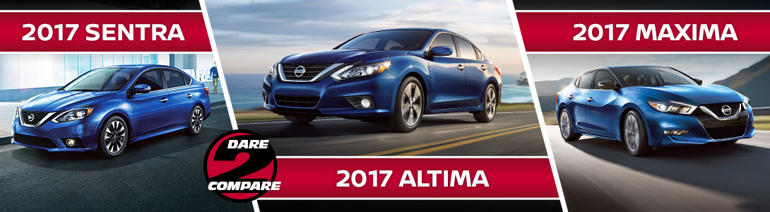 Compare Nissan Sedans | Nissan Of Visalia | Hanford, CA. New Altima  Inventory