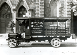 Reynolds Historical Photo - Delivery Truck