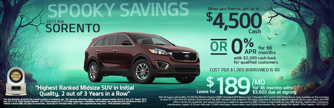 Crown Motor 2017 Kia Sorento
