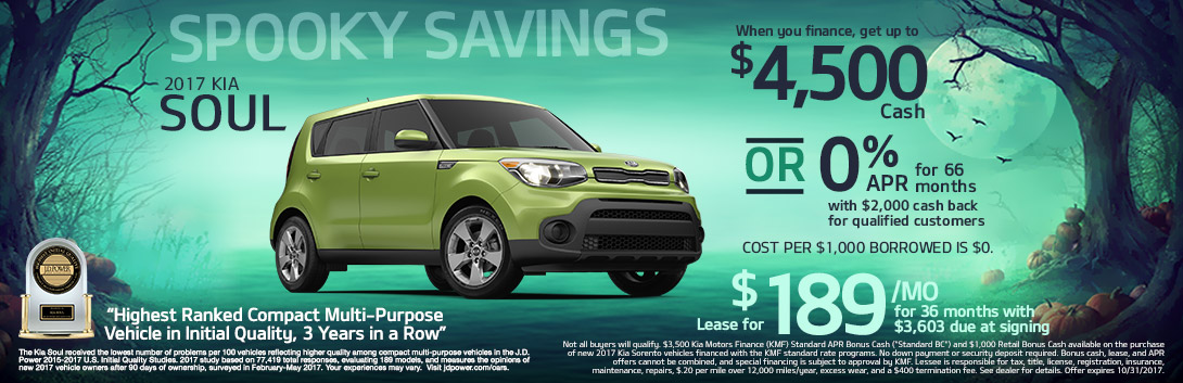 Crown Motor Spooky Saving 17 Kia Soul