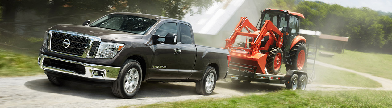 Nissan Titan Towing Capabilities at South County Nissan | Gilroy, CA