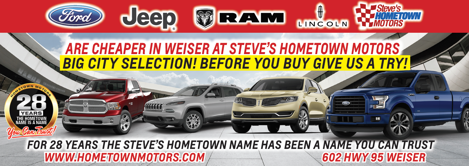 hometown motors weiser id