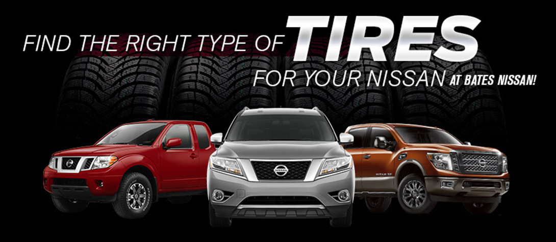 Types of Tires - Bates Nissan, Killeen, TX