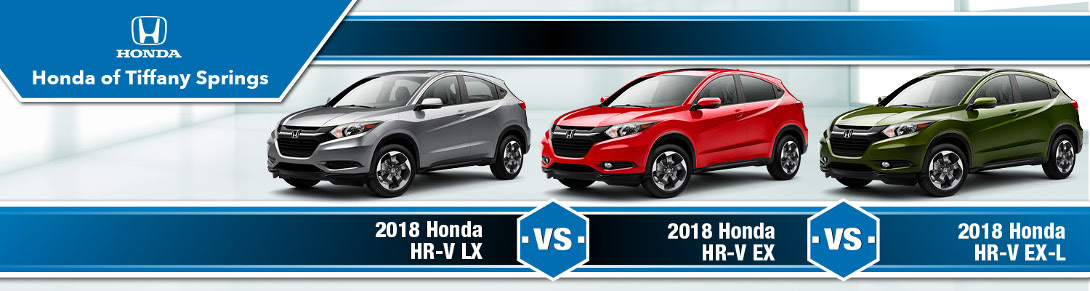 Honda HR V Trim Comparison