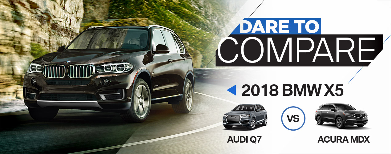 Dare To Compare BMW X Vs Audi Q Vs Acura MDX - Acura mdx competitors