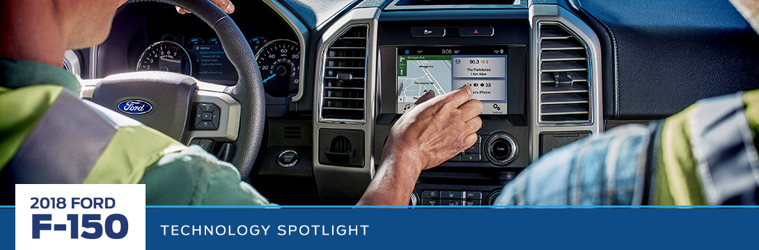 2018 Ford F-150 Technology Spotlight in Phoenix, AZ