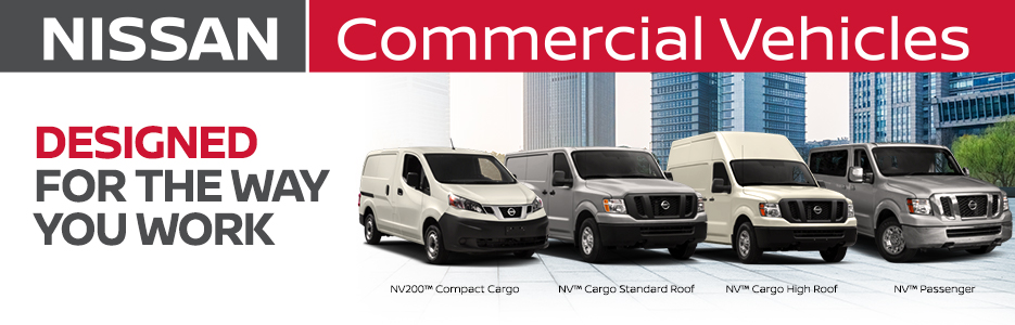 New Nissan Commercial Vehicles