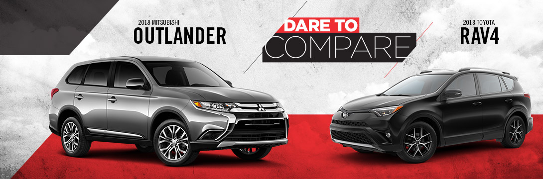 2018 Mitsubishi Outlander vs Toyota RAV4 | Tom Hodges Mitsubishi | Hollywood, MD