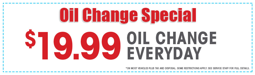 Oil Change Specials >> Service Specials And Coupons