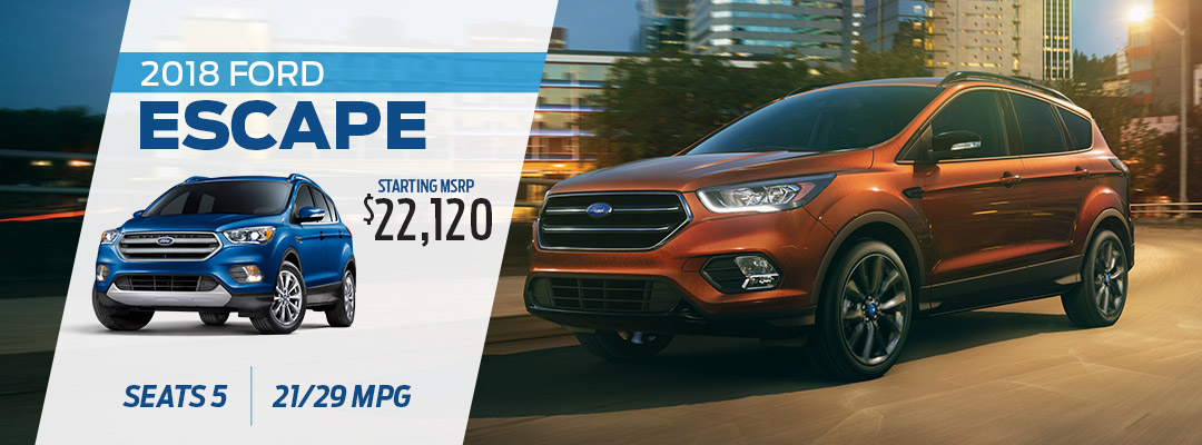 2018 Ford Escape in Pittsburgh, PA