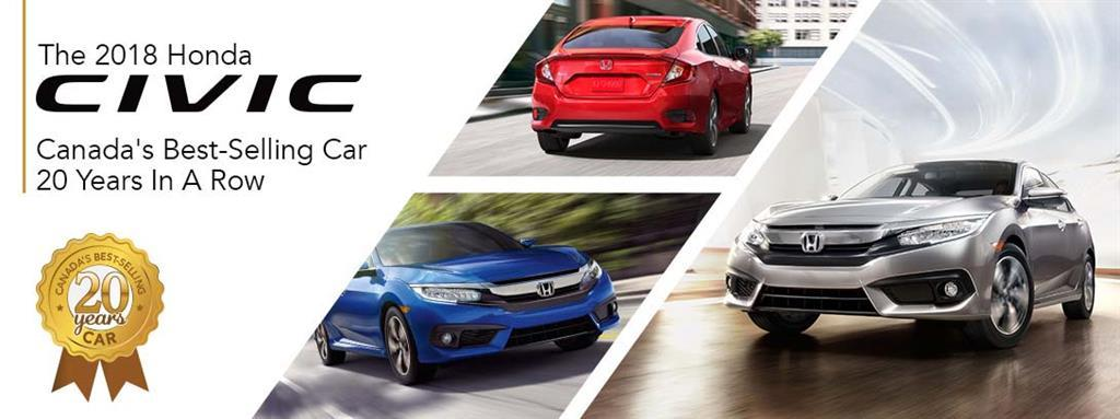 Honda Civic Canada's Best-selling Car For Over 20 Years at St. Albert Honda