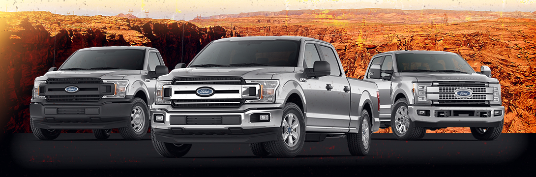 2018 Ford Truck Lineup