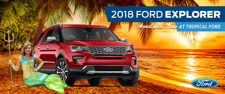2018 Ford Explorer at Tropical Ford | Orlando, FL