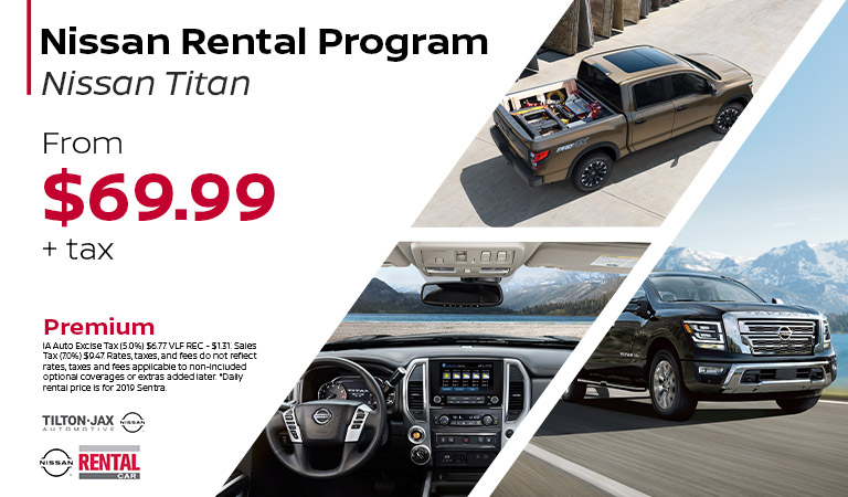 Rent The Nissan Titan | Quad Cities, IA