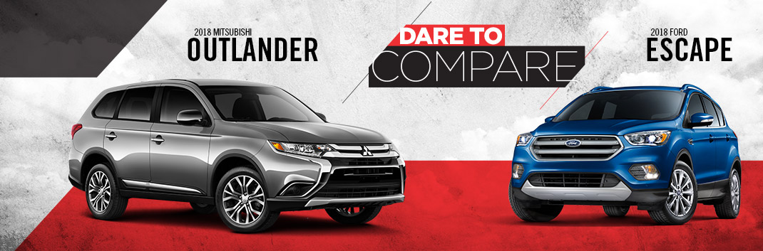 2018 Outlander vs. 2018 Escape | Tom Hodges Mitsubishi | Hollywood MD