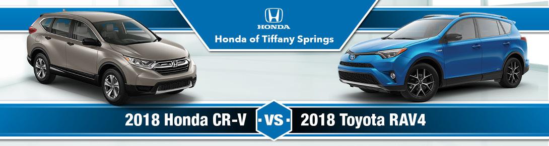 Honda CR V Vs. Toyota RAV4