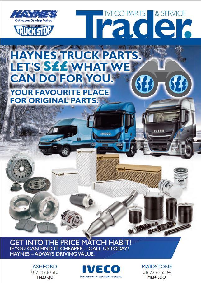 Parts - Haynes Trucks - Maidstone, Kent