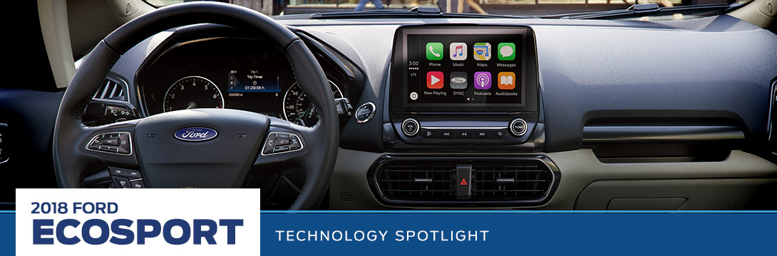 2018 Ford EcoSport Technology Spotlight | Sanderson Ford | Phoenix, AZ