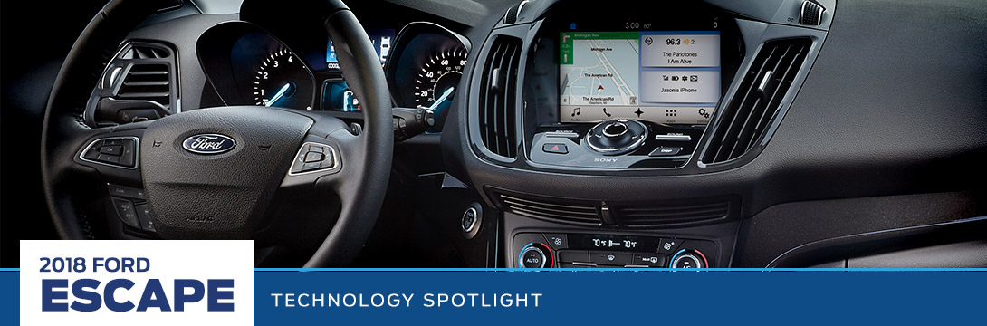 2018 Ford Escape Technology Spotlight | Sanderson Ford | Phoenix, AZ