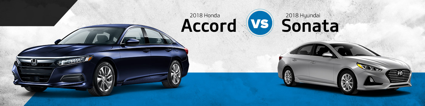 2018 Honda Accord Vs Hyundai Sonata Don Wessel New Sedan Springfield