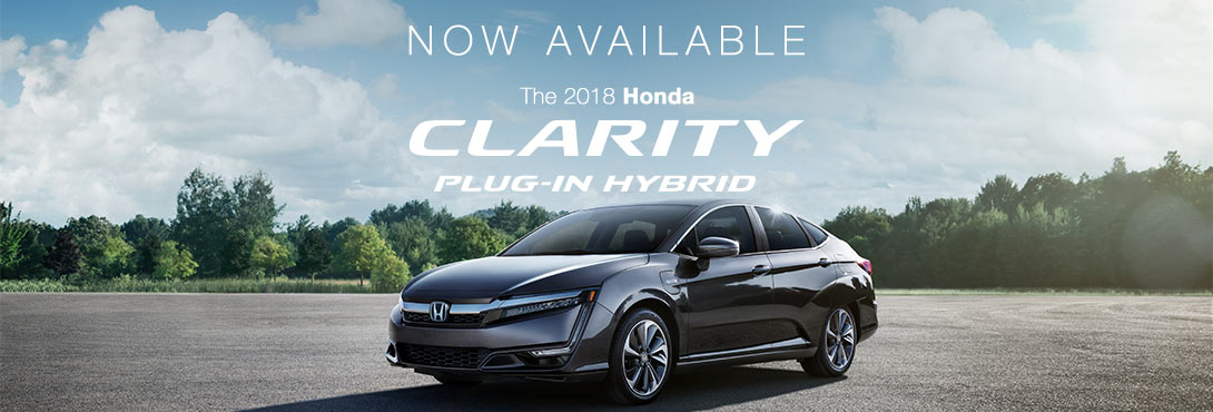2018 Honda Clarity PHEV Now Available