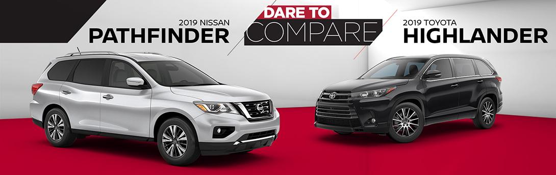 2019 Pathfinder Vs 2019 Highlander James Ceranti Nissan