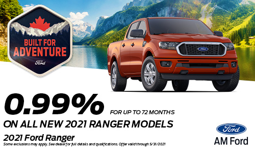 Save On The 2021 Ranger | AM Ford | Trail, BC