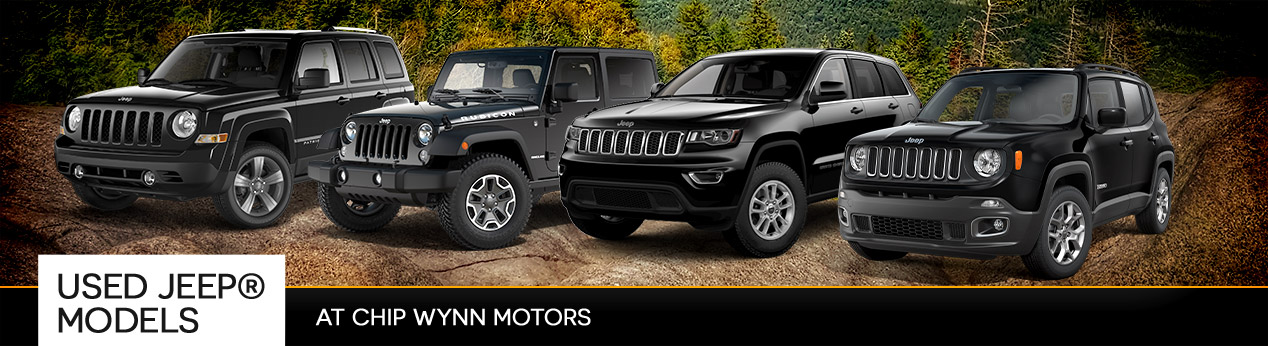 Used Jeep Models at Chip Wynn Motors | Paducah, KY