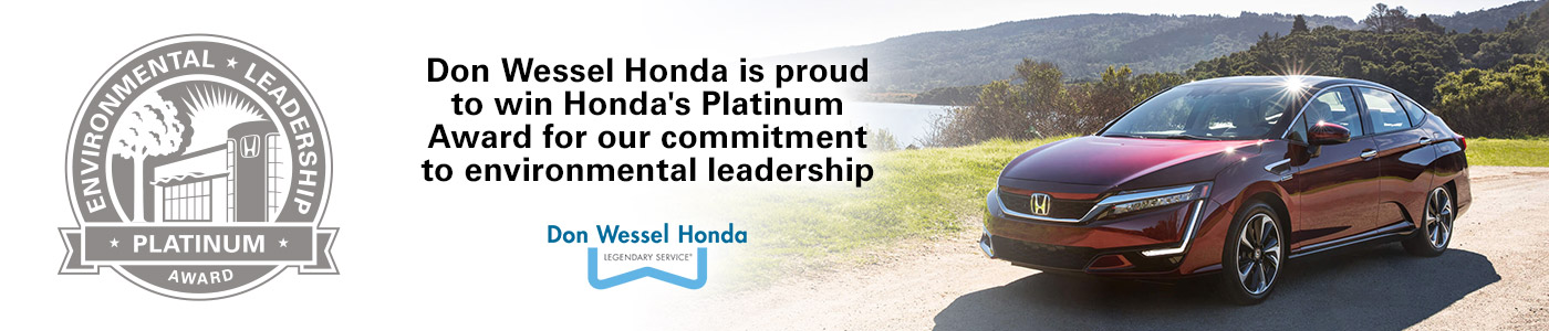 Don Wessel Honda Platinum Award | Car Dealer Springfield, MO