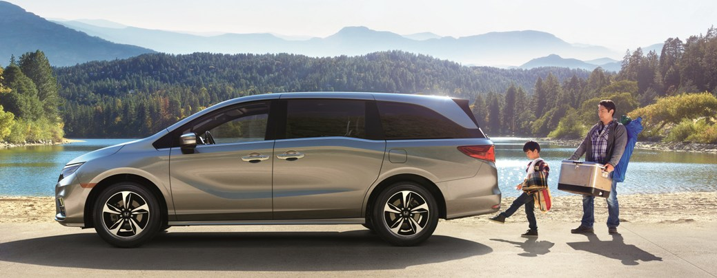 2019 Honda Odyssey Safety Tech | New Minivan Springfield MO