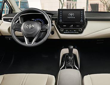 2020 Toyota Corolla Interior | Downtown Toyota | Toronto, ON