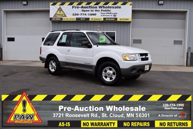 "2002 Ford Explorer Sport 2dr 102"" WB 4WD Value Manual"
