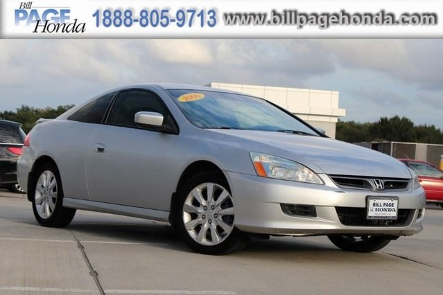 2006 Honda Accord Coupe EX L V6 AT