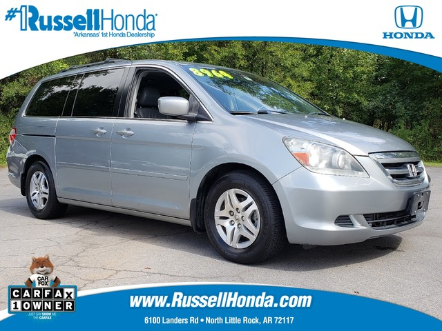 used 2006 honda odyssey 5dr ex l at russell honda north little rock ar. Black Bedroom Furniture Sets. Home Design Ideas