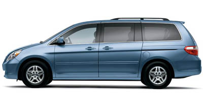 2006 Honda Odyssey 5dr EX-L AT with RES & NAVI