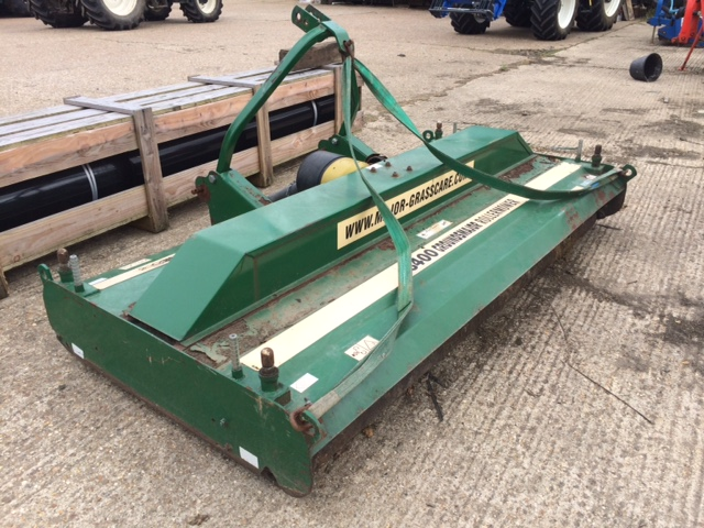 2006 USED MOWER MAJOR EQUIPMENT ROLLER MOWER