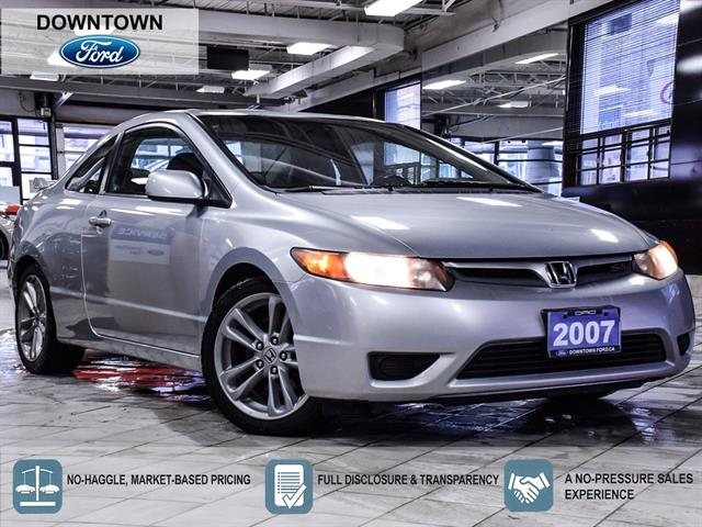 2007 Honda Civic Coupe 2dr MT Si