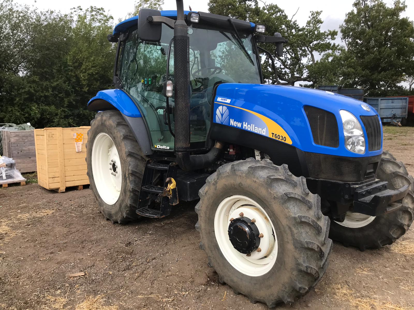 2007 USED TRACTORS NEW HOLLAND TRACTOR 4WD DELTA