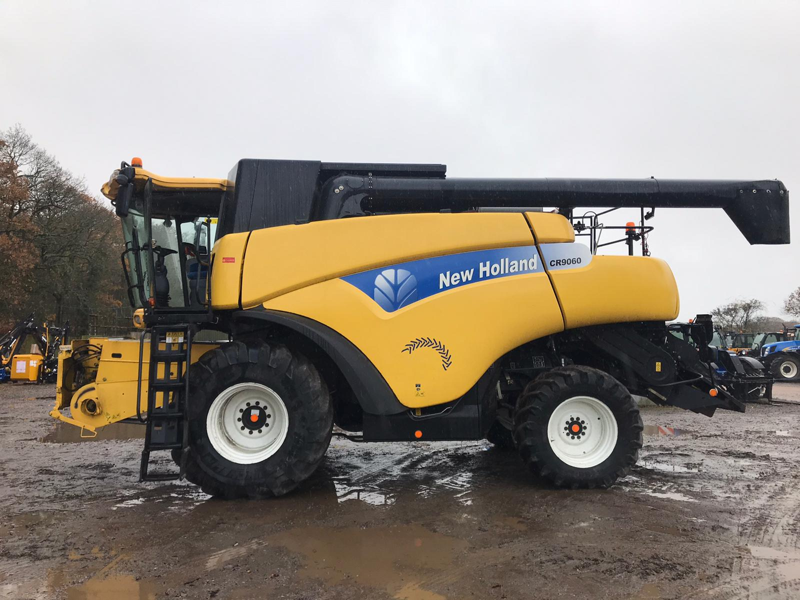 2008 USED COMBINE NEW HOLLAND COMBINE