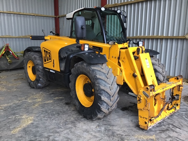2008 USED JCB TELE J.C.B. LOADALL